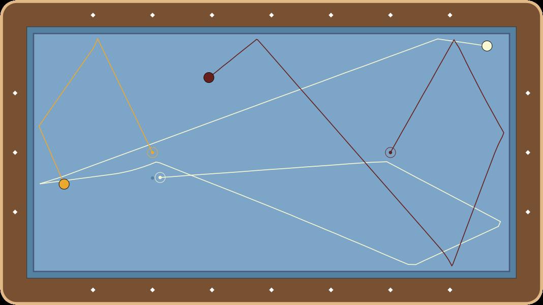 billiardsCarom Billiards Diagram #17