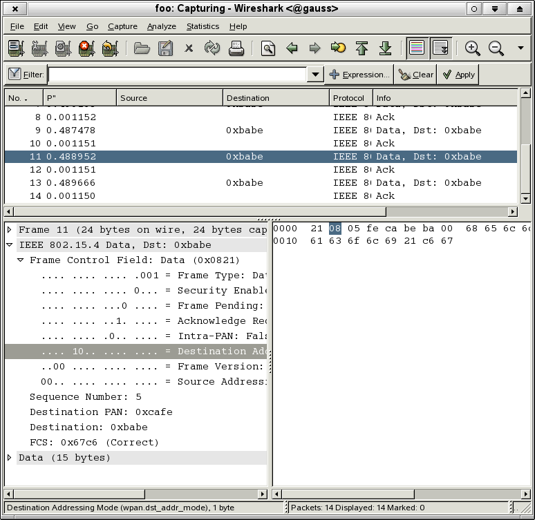how to run wireshark on linux