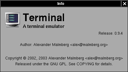 Chapter 5  Terminal